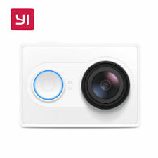 YI Action Camera 1080P HD Built-in WiFi 16MP 3D Sport Mini Camera White Official