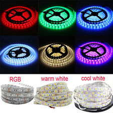 5m-10M SMD 5050 RGB white Waterproof 300 LED Flexible 5M Tape Strip Light DC12V