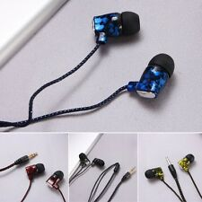 3.5mm Stereo Piston In-Ear Earphone Headset Headphone WITH Mic Fr iPhone MP3 MP4