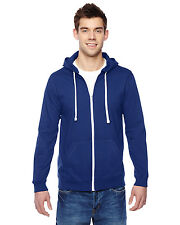 Fruit of the Loom SF60R Mens 6oz 100% Sofspun Cotton Jersey Full-Zip Hoodie New