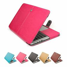 PU Leather Laptop Sleeve Bag Case Cover for MacBook Retina 11 12 Pro Air 13 15