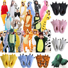 2016 Cartoon Kigurumi Onesie All In One Piece Pyjamas Pajamas Sleepwear Slippers