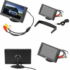 "4.3"" TFT LCD Car Monitor Reverse Rearview Color Camera DVD VCR CCTV LC"