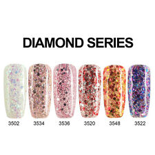 Modelones 10ML Nail Art Glitter Diamonds Soak Off UV Led Gel Nail Polish 502_548