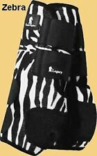 Classic Equine Legacy Boots Discontinued ZEBRA - NEW - HIND