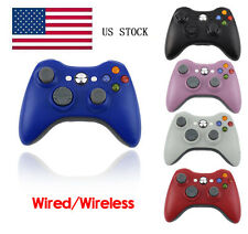 NEW Wired/Wireless GamePad Console Game Controller For Microsoft Xbox360 Slim&PC