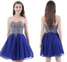 Babyonlinedress Chiffon Short Sheer Homecoming Evening Prom Party Cocktail Dress