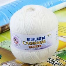 1 Ball LACE Soft Crochet Acrylic Wool Cashmere Hand Knitting Yarn Multi-Color