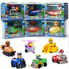 6PCS Paw Patrol Toy Action Figure Doll Racer Car Kids Baby Christmas Xmas Gifts