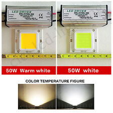 5X50W LED SMD Chip Bulbs + LED Driver Transformer Power Supply IP65 Floodlight