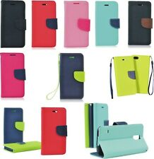 Fancy Book Case for Sony Pouch Flip Cover Book style Bookstyle Wallet Case