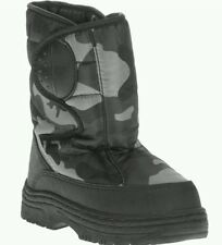 Temp Rated Toddler Boys' Indur Gray Camo  Winter Snow Boots/Shoes: 5