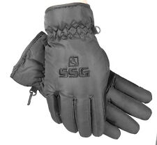 SSG Microfiber Thinsulate Winter Riding Gloves, sz L, Black NWT