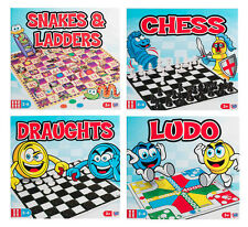 TRADITIONAL BOARD GAMES | SNAKES AND LADDERS | LUDO | DRAUGHTS | CHESS New..