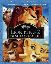 The Lion King II/2/Two Simbas Pride (Blu-ray Disc, 2012, Special Edition)