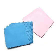10x Jewelry Polishing Cloth Cleaning for Platinum Gold and Sterling Silver RX