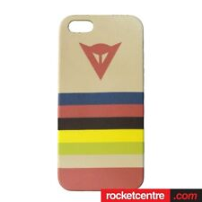 DAINESE IPHONE 5 5S MOTORBIKE CASE COVER HISTORY CORAL GIFT CREAM