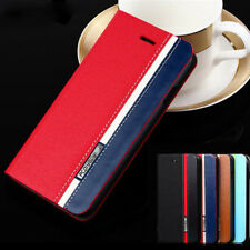 Luxury Flip Cover Stand Wallet PU Leather Case Cover Skin For Apple iPhone B