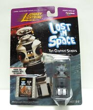 LOST IN SPACE ROBOT B-9 Johnny Lightning Miniature w/ Film Clip #7 MINT ON CARD