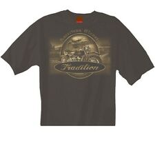 T-SHIRT WITH HARLEY DAVIDSON MOTORCYCLE PRINT MODEL AMERICAN CLASSIC TRADITION