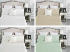 1500TC Cotton Fitted Sheet Set (No Flat)/Sheet Set/Quilt Cover Set Easy Care