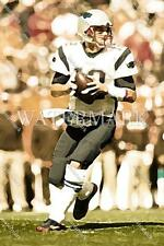 CU719 Tom Brady New England Patriots Pass 8X10 11x14 WaterColor Photo