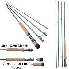 New Shakespeare Agility 2 4 Pce Travel Fly Rod With Cordura Tube Trout Salmon