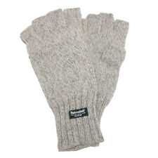 New Dorfman Pacific Men's Wool Fingerless Winter Gloves with Thinsulate