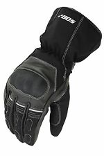 New Motorcycle gloves, Biker Leather gloves, Winter Leather Gloves Size S - 2XL