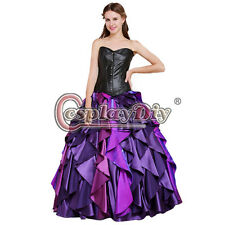 The Little Mermaid Dress Sea Witch Ursula Princess Dress Cosplay Costume Adult