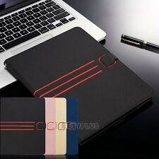 Vintage Magnetic Leather Stand wallet Case Cover for Apple iPad 2 3 4 Air Mini