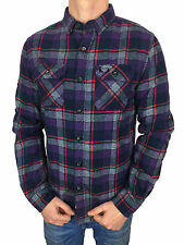 SALE £38.50 / Superdry Mens Refined Lumberjack Shirt Artic Grindle Check Medium