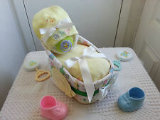 Cutest Lil Baby Face Bassinet Diaper Cake Baby Shower Gift Boy Girl
