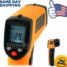 HH Non-Contact LCD IR Laser Infrared Digital Temperature Thermometer Gun LU