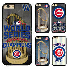 Chicago Cubs World Series Champions Hard Phone Case For Touch/ iPhone/Samsung