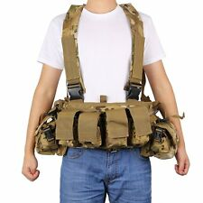 Hunting Tactical Molle Tactical War-Game Assault Plate Carrier Protective Vest