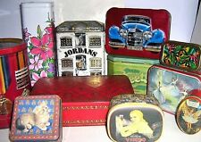 EARLY CONFECTIONERY TINS 1960/2000 ~ click - Select - to browse or order