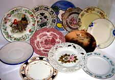 COLLECT UK PLATES - BONE CHINA and OTHER 1960/90 click SELECT to browse or order