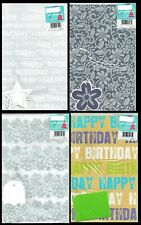 2 Sheet Pack Quality Wrapping paper and Gift Card Birthday / Other