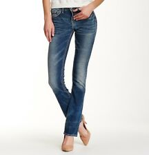 """Silver Jeans Co. Women's Suki High Rise Slim Bootcut Jeans-33"""" Inseam MSRP $94"""