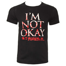 Official T Shirt MY CHEMICAL ROMANCE Black IM NOT OKAY Band Tee All Sizes