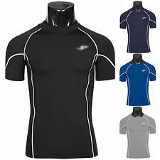 Mens Fitness Compression Base Layer Top Cycling Fitness Thermal Gym Sport Shirts