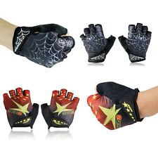 Sports Racing Bike Bicycle Cycling Motorcycle Shockproof Gel Half Finger Gloves