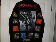 Megadeth Tribute Jackets-Black XL(LEVIS brand)....Anthrax, Slayer,Pantera,AC/DC