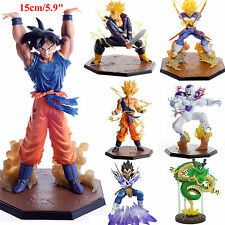 Anime Dragon Ball Z DBZ Super Saiyan Son Goku Vegeta PVC Figure Collectible Toys