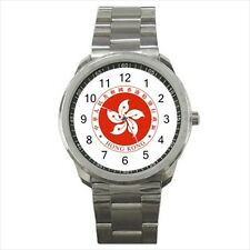 Emblem of Hong Kong Stainless Steel Sport Watch - Tabard Surcoat