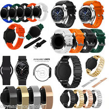 Luxury Silicone/Milanese/Stainless Steel Watch Strap Bands For Samsung Gear S3