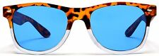Vintage Wayfarer Sunglasses Weekender Orange White