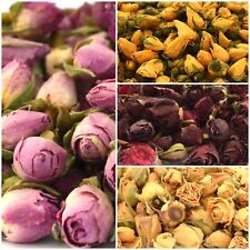 Rose Buds - Red, Pink, Yellow, Ivory -  Bath Bomb, Soap, Candle, Potpourri etc.
