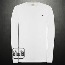 New Men Tommy Hilfiger Denim Trump Knit Roundneck Long Sleeves Tshirt NWT